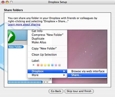 Installation Dialog Box