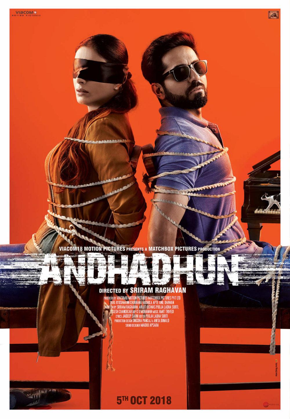 Andhadhun Poster